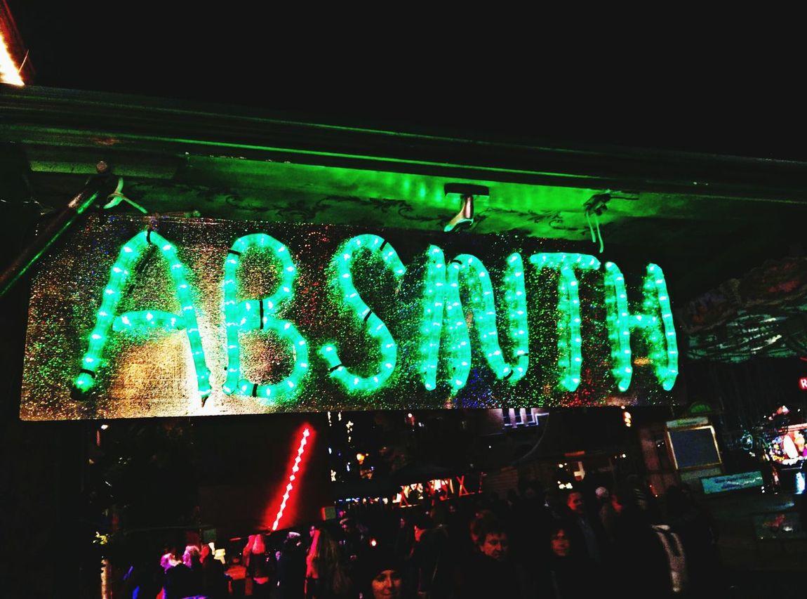 Absinth Glühwein All The Neon Lights