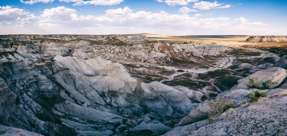 Arizona Canyons Desert Nature Petrified Forest National Park USA Blue Canyons And Valleys Desert Beauty Sky The West Travel Destinations Valley