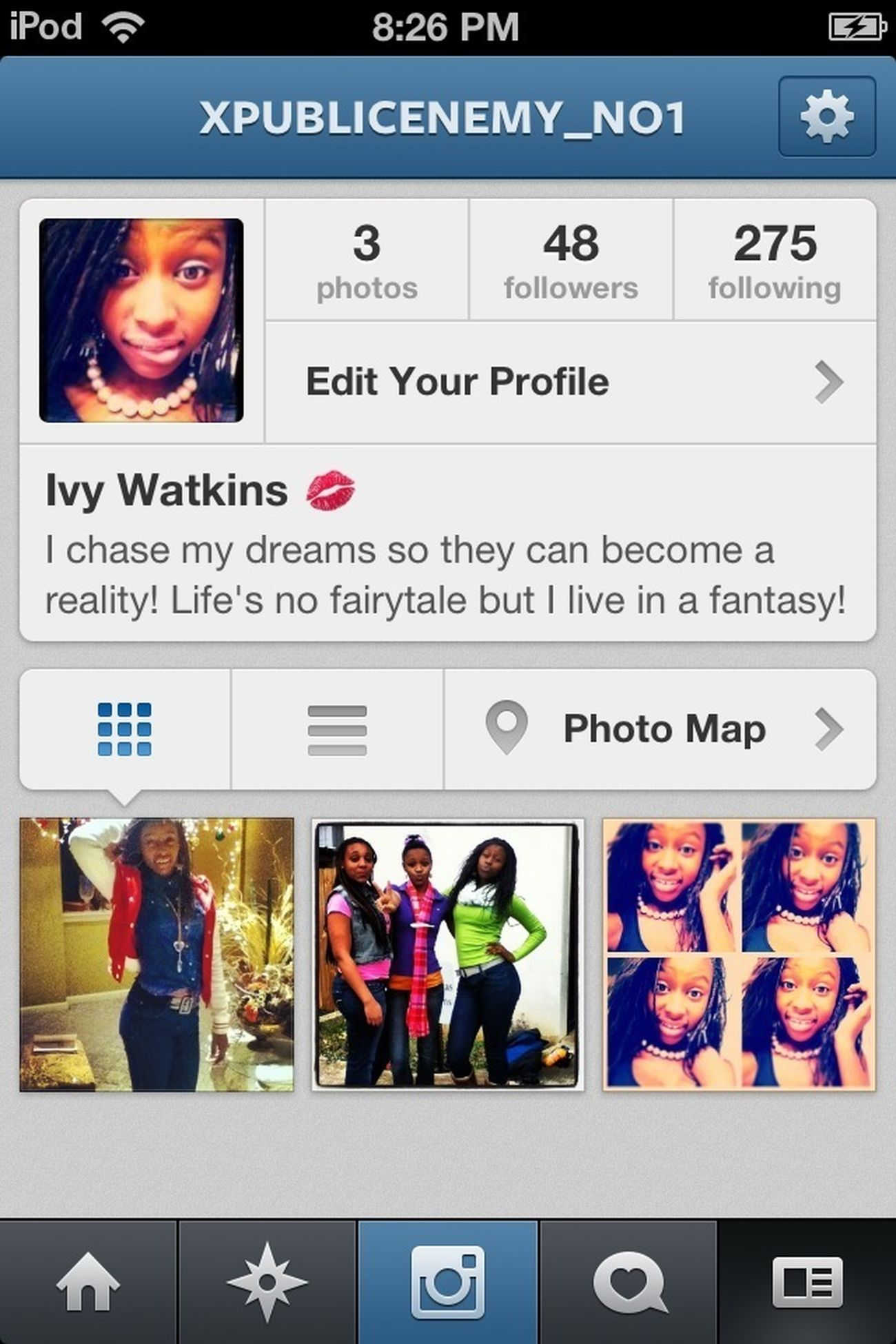 Follow Me On My New IG @xpublicenemy_no1