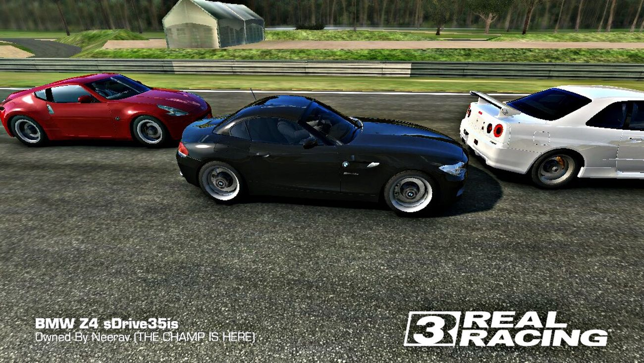 Playing Real Racing 3