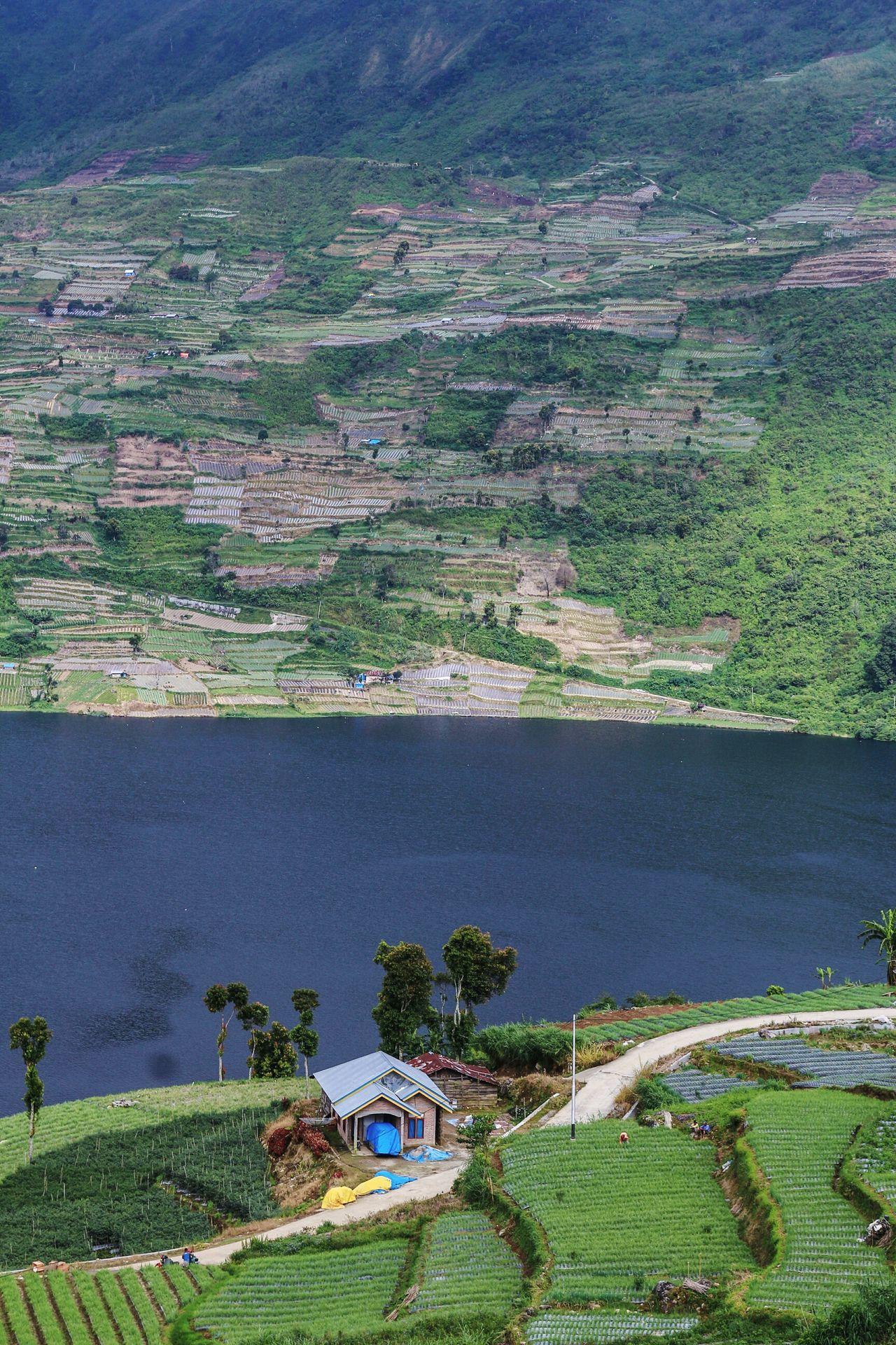 Both side of the lake Nature Rural Scene Landscape Photography Lake Wonderfulindonesia