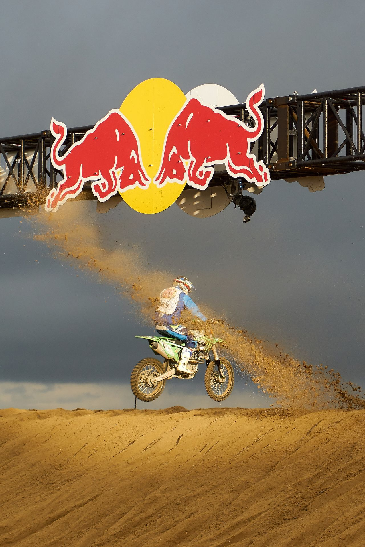 Sand Jump Beach Day Motorcycles Outdoors Race RedBull RedbullEvents Sand Sand Dune