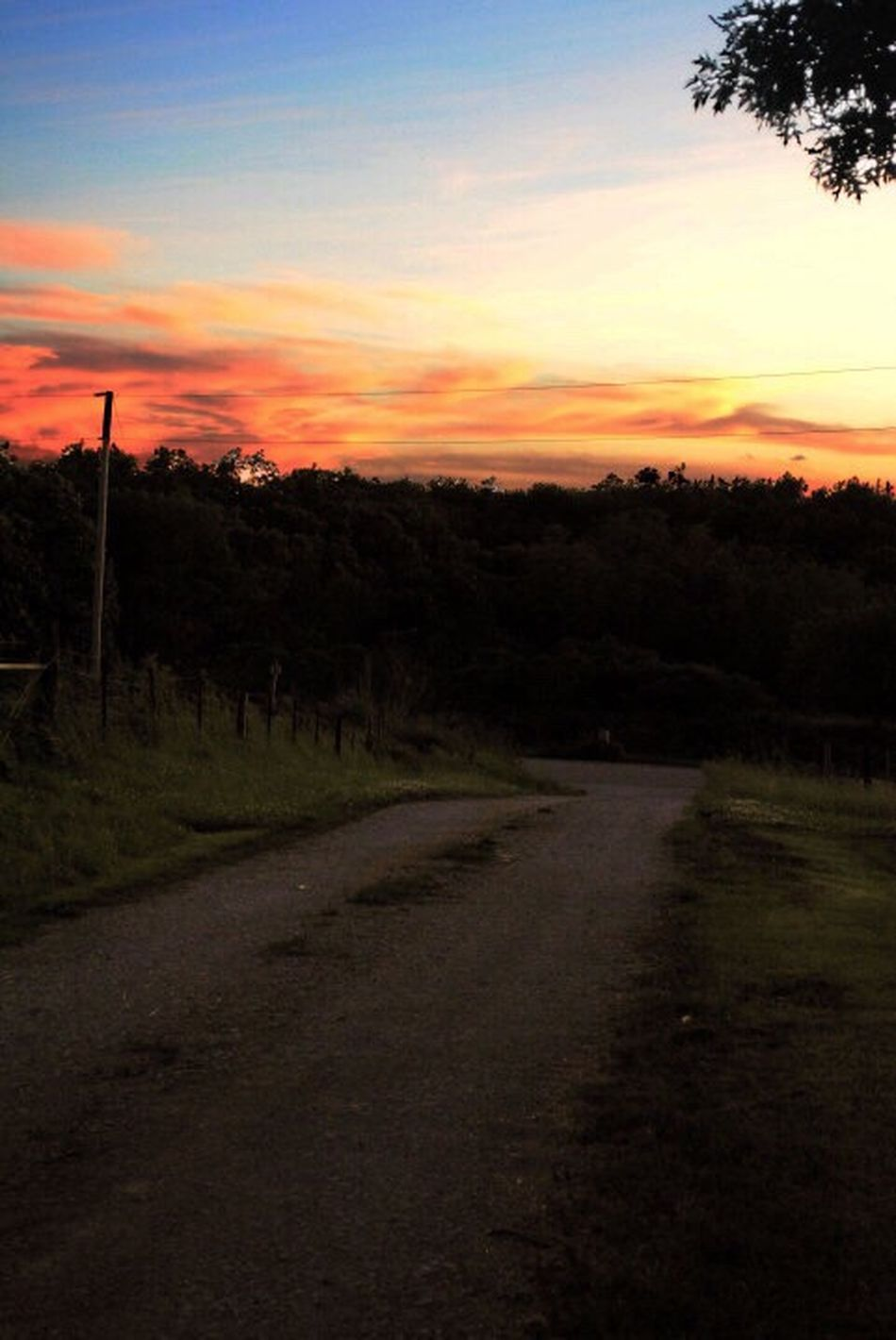 Sunset Gravel Road Pureexpressions