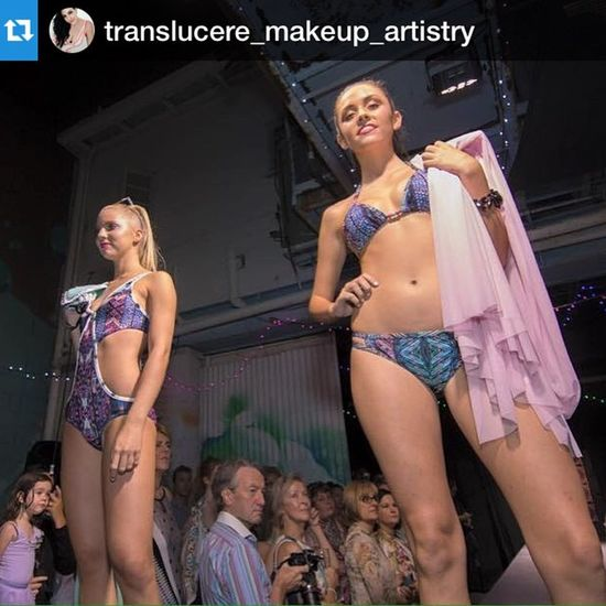 Reposting from @translucere_makeup_artistry wonderful working with her.
