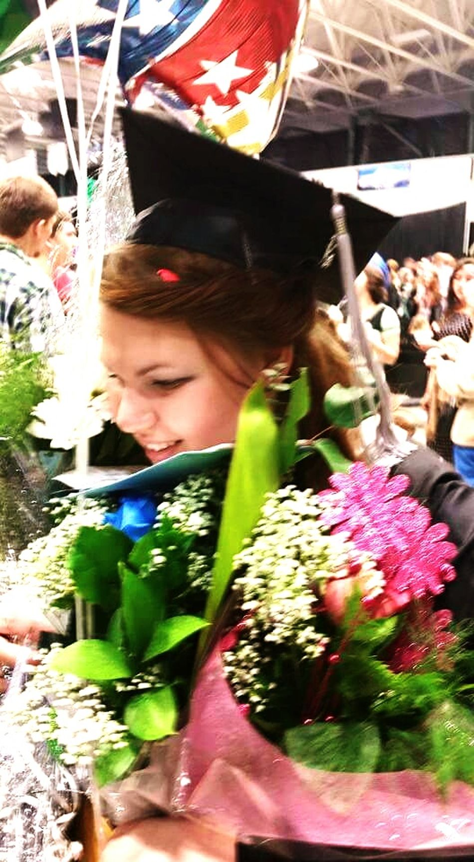 I graduated today :) That's Me Hello World High School Done !