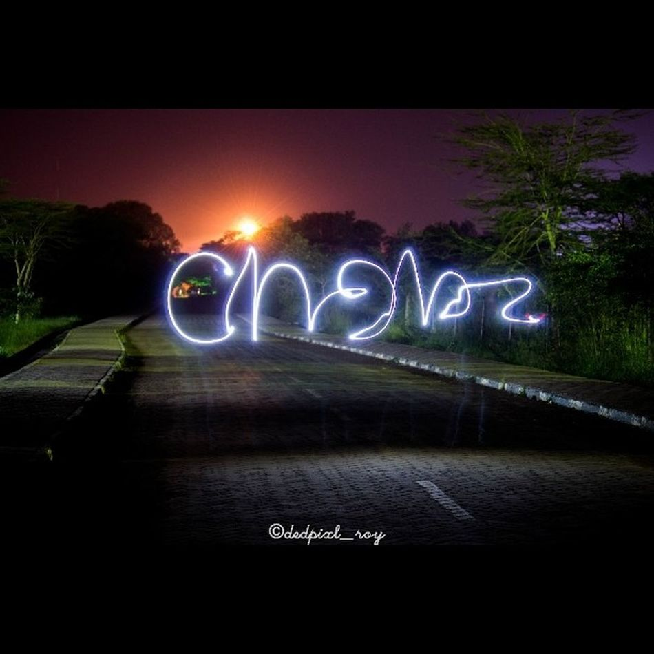 Look what happens when you go for an impromptu night shoot. Am happy to be shooting with you Chebz. Always enthusiastic and pushing me foward Drawingwithlights NightShots Longexposure Names Igkenya IgersKenya Vscocam VSCO Vscokenya Instagram Instanights