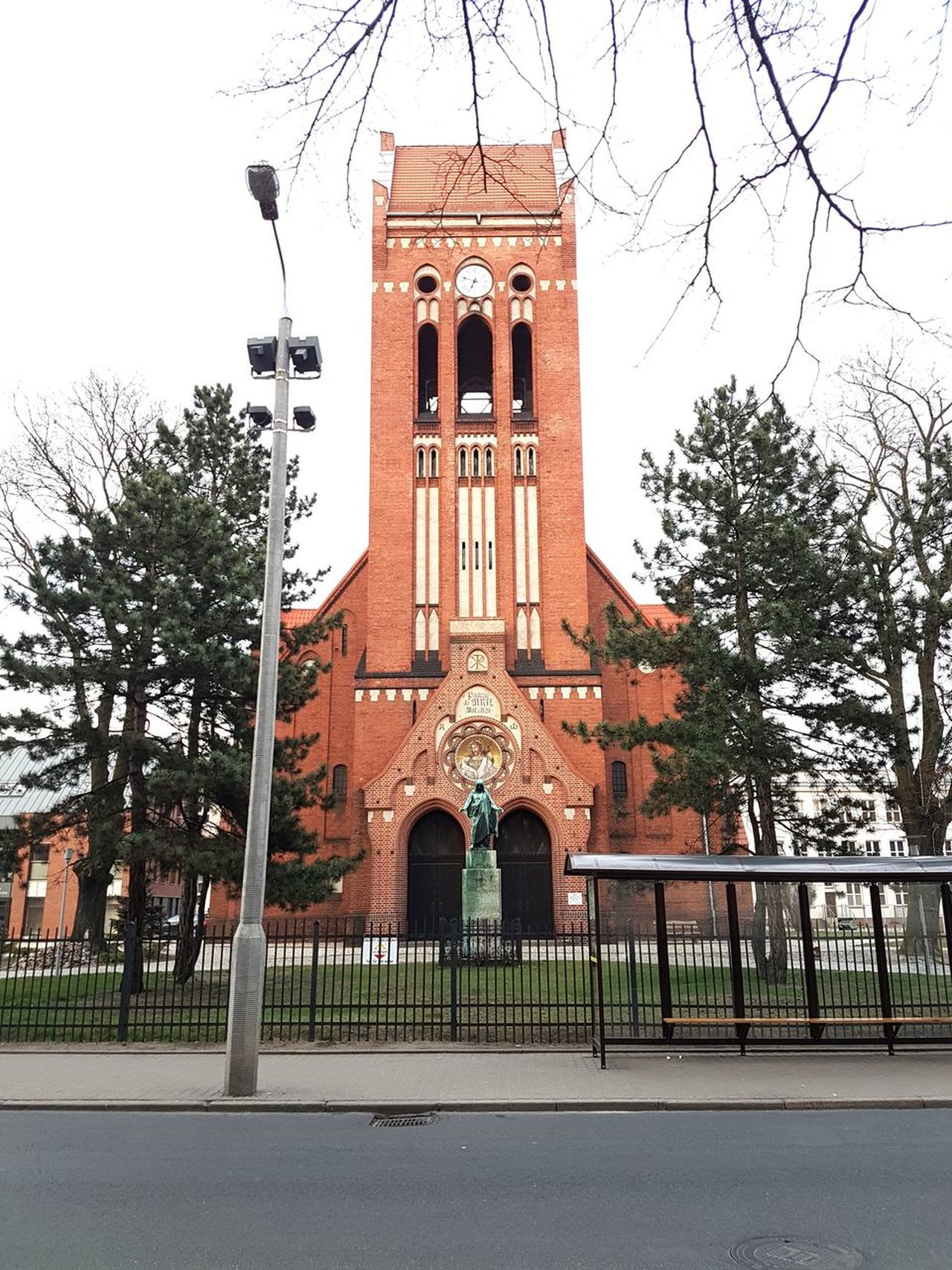 Bydgoszcz Poland Religion Built Structure Architecture Building Exterior No People Outdoors Day Sky Architecture Polandarchitecture Street Church Clock Clock Tower