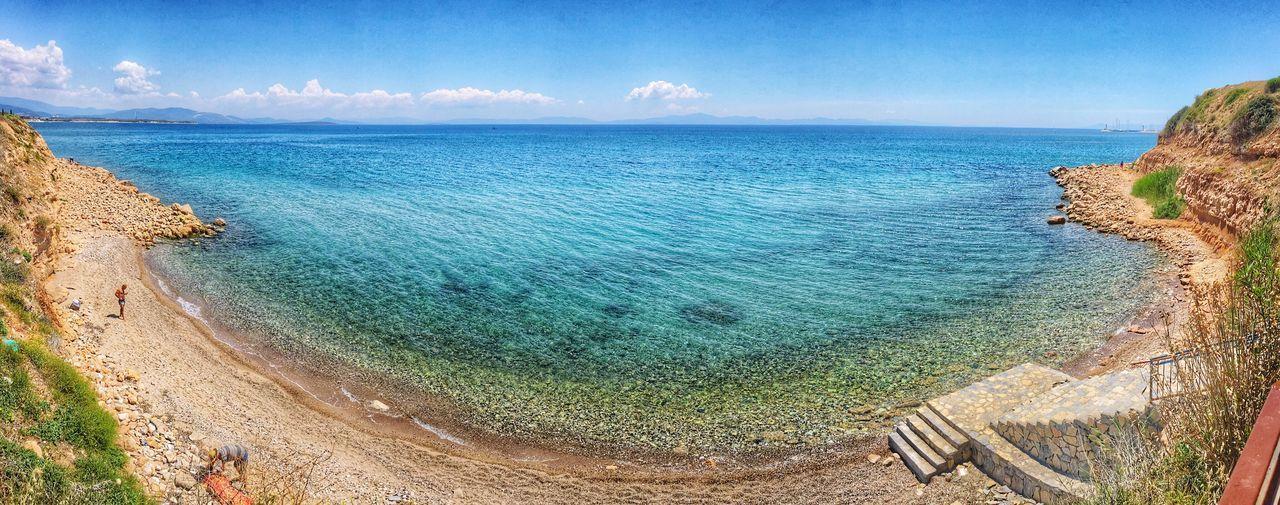 Taking Photos Blue Bluesky Blue Sea Alwaysloveblue