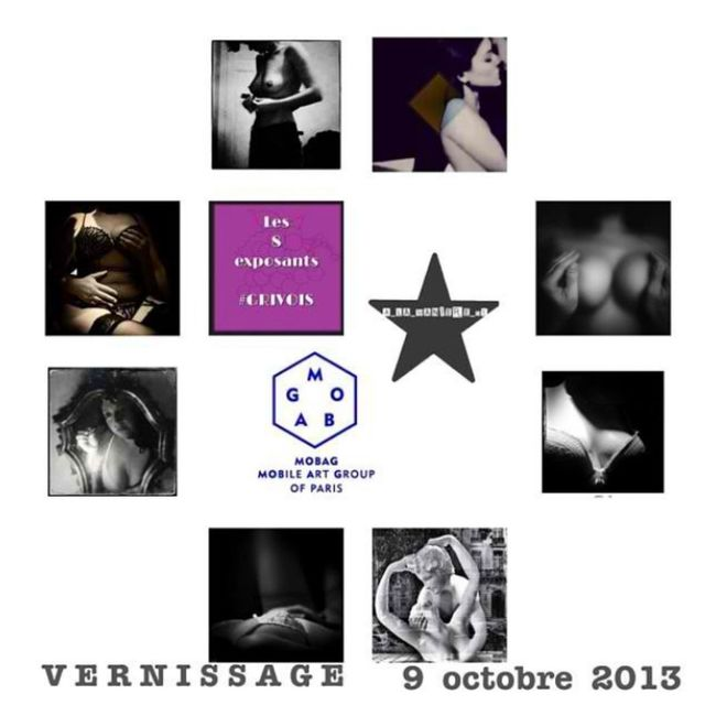 vernissage mercredi 9 octobre à la maison des associations du 18eme, j y serai j espere vous y retrouver ! (expo jusqu au 19/10)