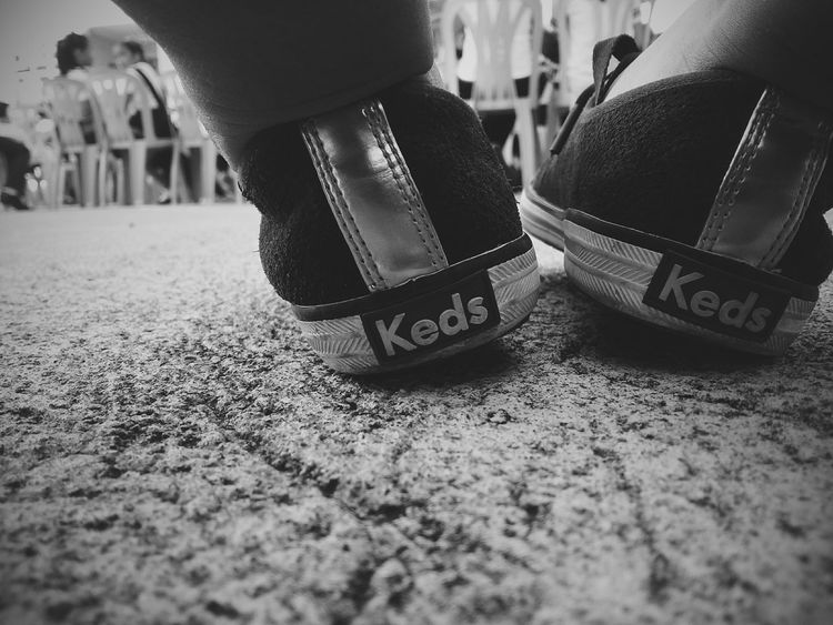 Keds Shoes Keds Kedsssss ❤❤❤ Black And White Blackandwhite Photography Black And White Collection  Sneakers Check This Out Monochrome Kedsshoes