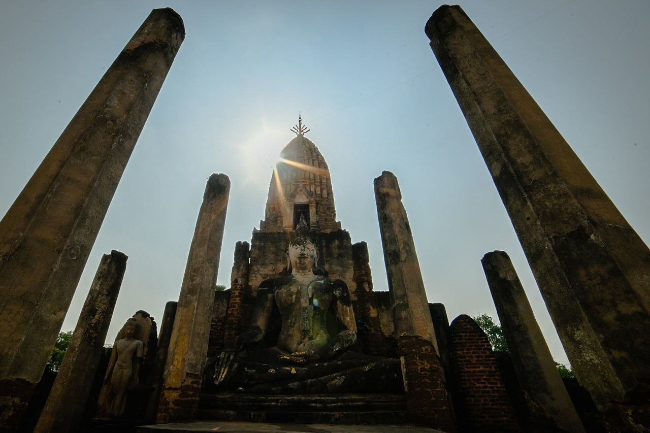 Religion Spirituality Place Of Worship Travel No People Travel Destinations Pilgrimage Architecture Statue Sky Outdoors Cultures Day
