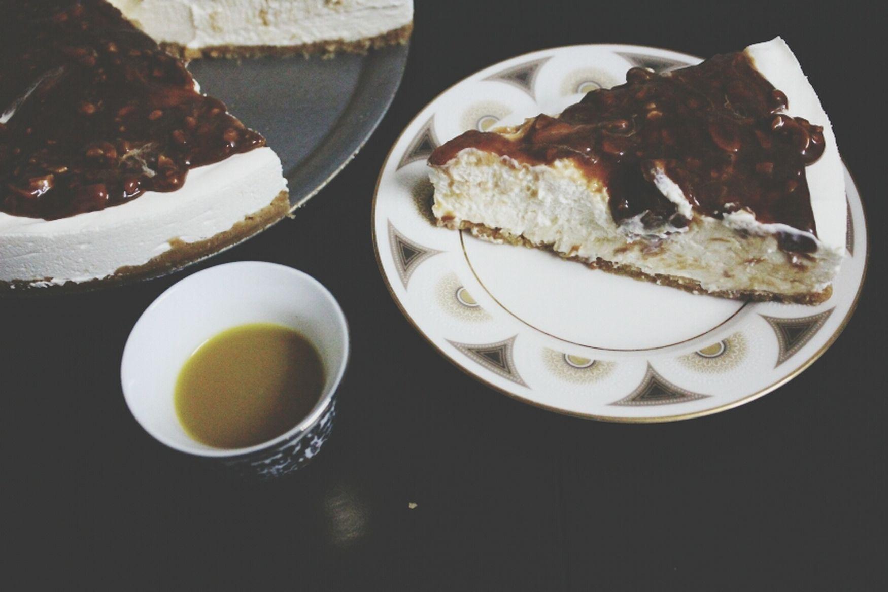 CheesCake With Arabic Coffee