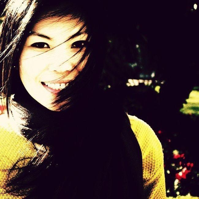 Smile! Portrait Vintage Asian  Love