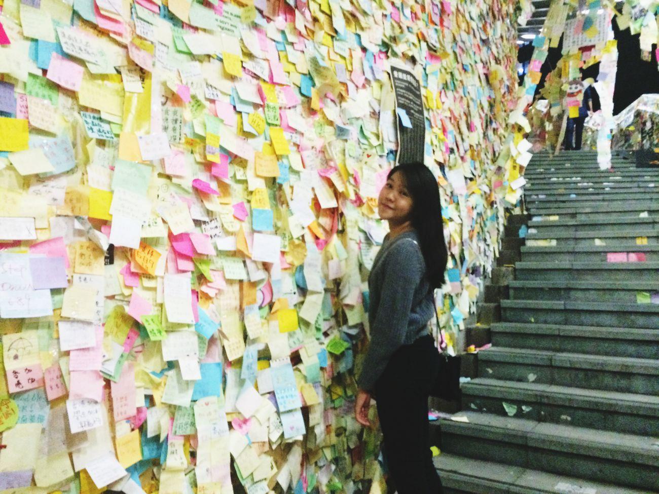 LENNON WALL OF HONG KONG