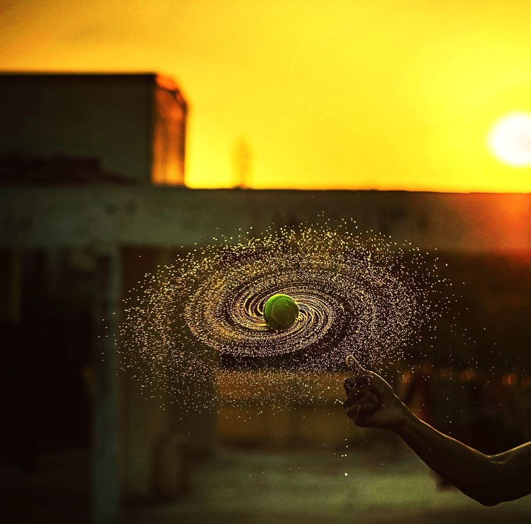 The galaxy from tennis ball. ❤️❤️No People Water Indoors  Close-up Nature Day Outdoors Nature Tennis Ball Water Drops Rotation Spinning Around Spin Centrifugal Focused ❤ Time To Reflect Waterdrops Sport Motion EyeEmNewHere The Street Photographer - 2017 EyeEm Awards