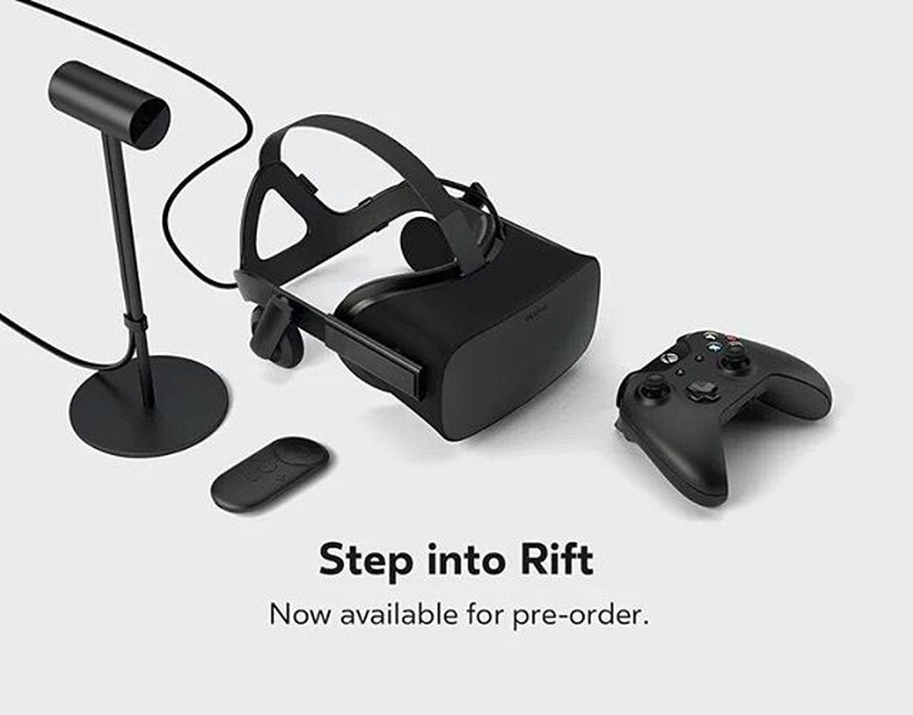 Las gafas virtuales Oculusrift salen a la venta para el público en 599 dólares, unos $10,500MXN