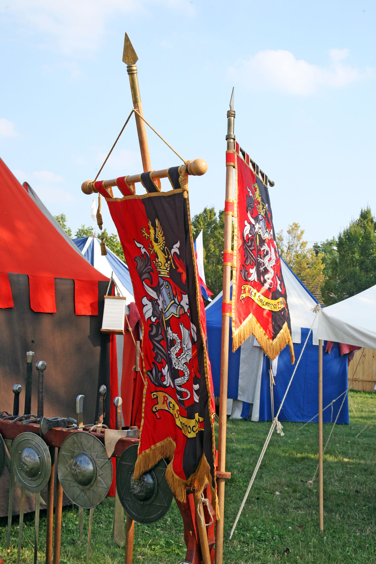 Renaissance Festival,Koprivnica,Croatia,Europe, 2016.,flags and anthems Anthems Colourful Croatia Day Design Entertainment Eu Europe Fair Flags Koprivnica Medieval Outdoors Renaissance Festival Show Summer