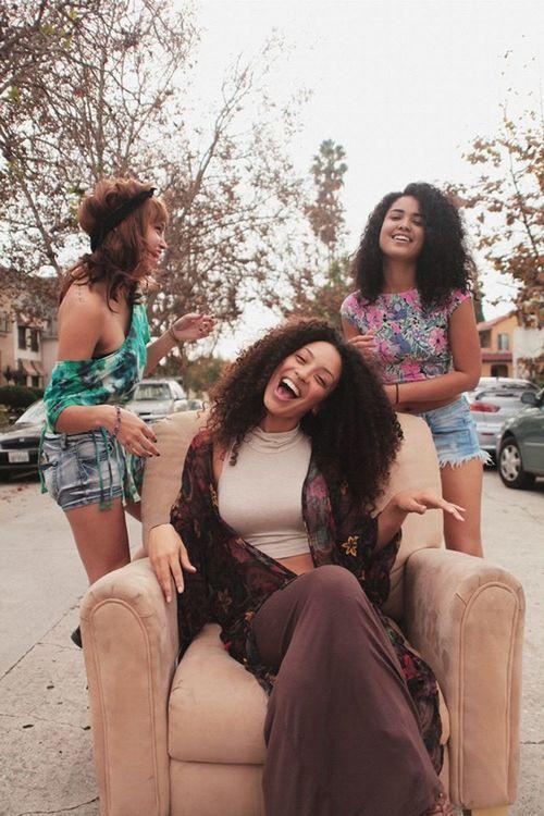 Mixie D, Christina Santini & Asia Dee Urban Fashion Street Fashion Gorgeous Aesthetics Models Model Curly Hair