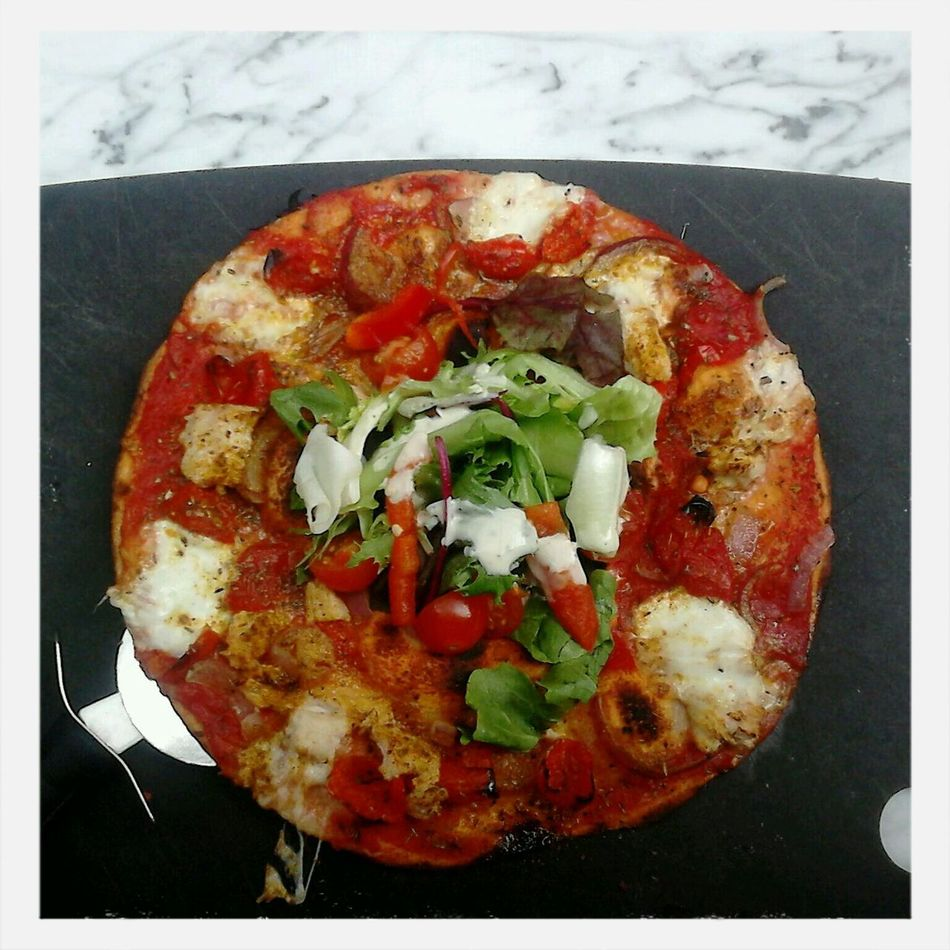Great pizza, Great picture @PizzaExpress Pizza Healthy Salad