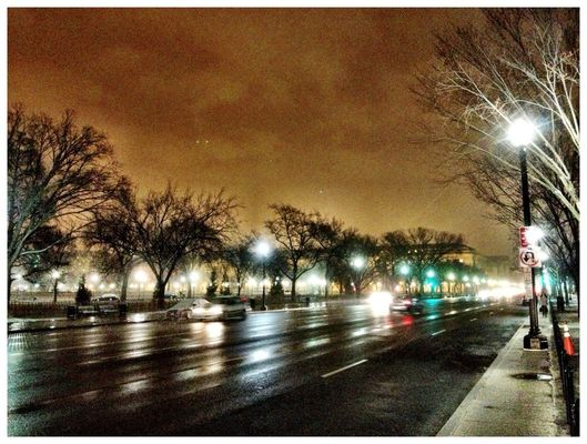 goodnight world.... in Washington, D. C. by Frederick Espy