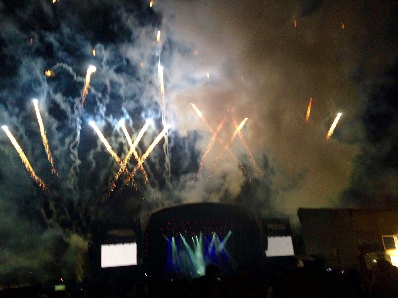Bellahouston Park Paolo Nutini Fireworks
