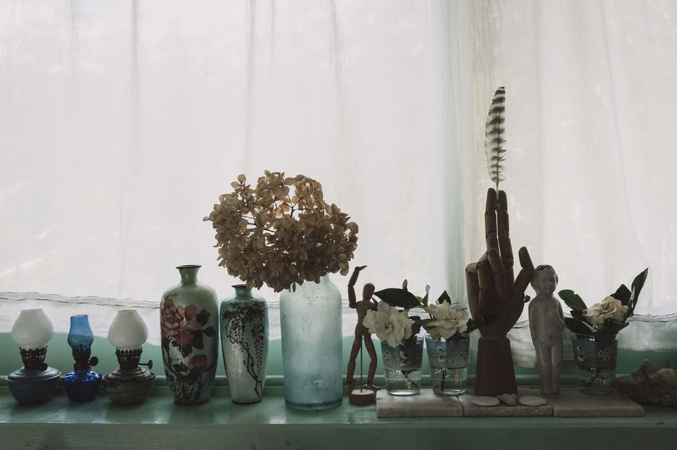 Close-up Day Indoors  Large Group Of Objects Light No People Variation Vase Window