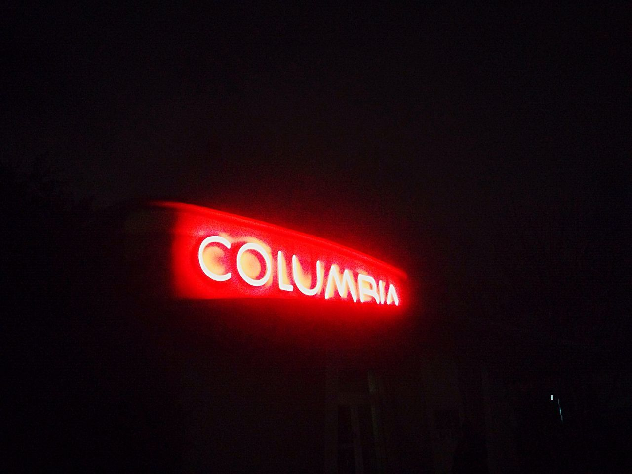 Red Illuminated Neon Night Text Communication No People Close-up Nightlife Outdoors Berlin Columbiahalle Welcome To Black