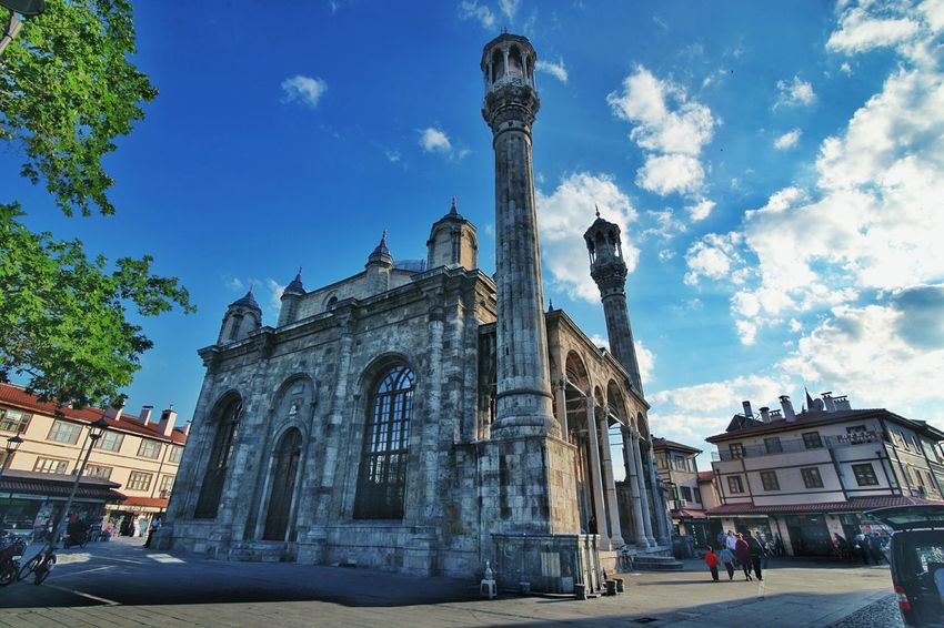 Architecture Travel Destinations Cloud - Sky Sky History Blue Built Structure Religion Sculpture Statue Building Exterior Low Angle View Day Outdoors City People Politics And Government Serkansert 5dMarkⅡ EyeEm Gallery Hello World Anamurlu Canonphotography Eyem Türkiye MyGallery