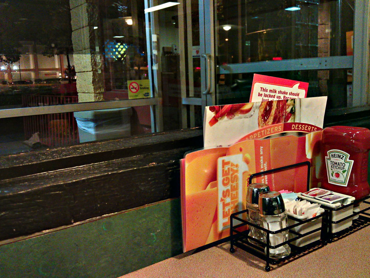 Photo taken with HTC Sensation Denny's Htc Sensation Window
