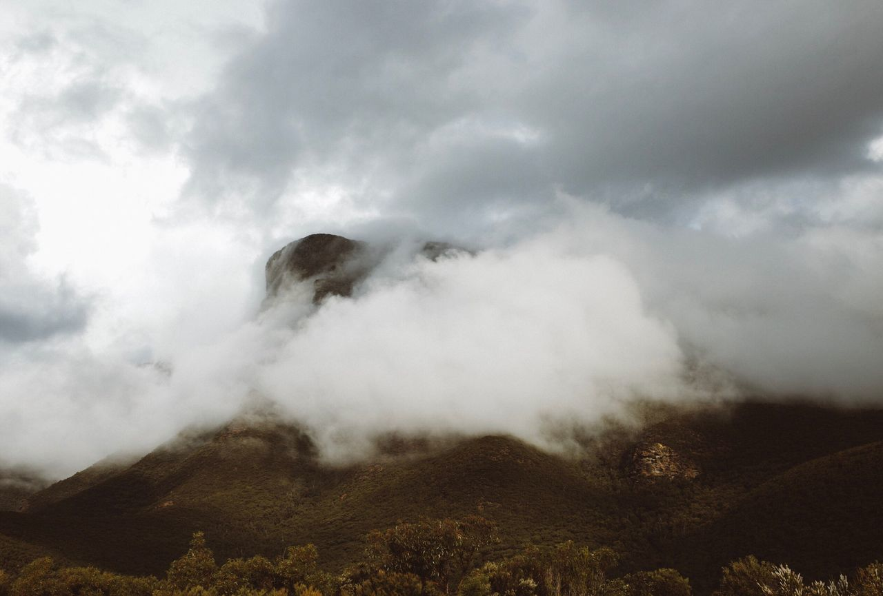 Nature Sky Scenics Landscape Non-urban Scene Beauty In Nature Power In Nature Smoke - Physical Structure Geology Outdoors Mountain Erupting Tranquil Scene No People Physical Geography Tranquility Idyllic Day Cloud - Sky Emitting