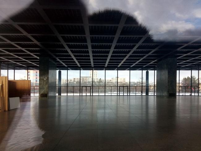 Architecture Empty Indoors  Kulturforum Berlin Ludwig Mies Van Der Rohe Neue Nationalgalerie New National Gallery Berlin Window