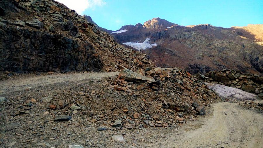 Bogutu Extreme Terrain Mountain Mountain Range Narrow No People Non-urban Scene Remote Rocky Sach Pass Scenics