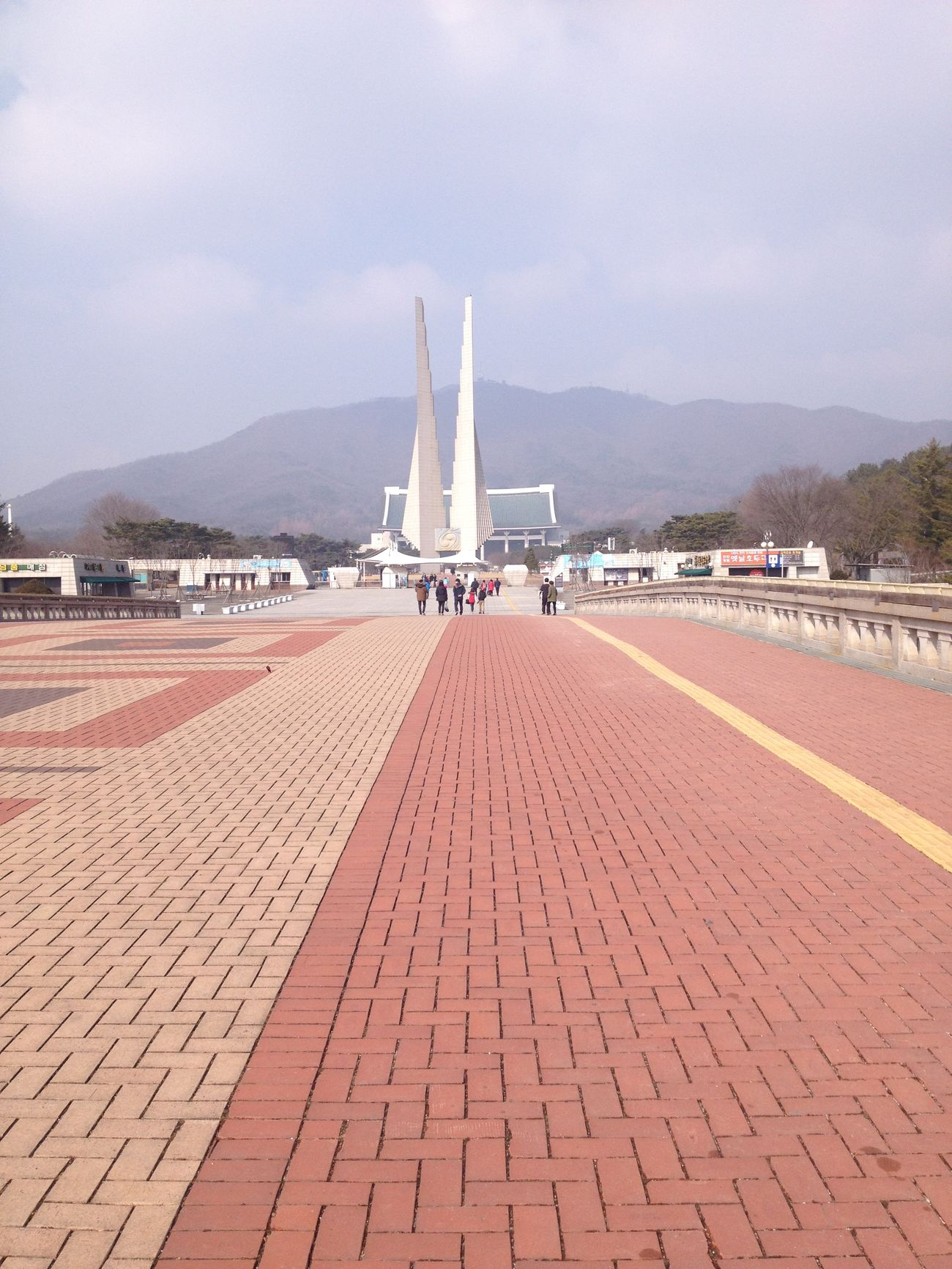 Monument Independence Hall Korea