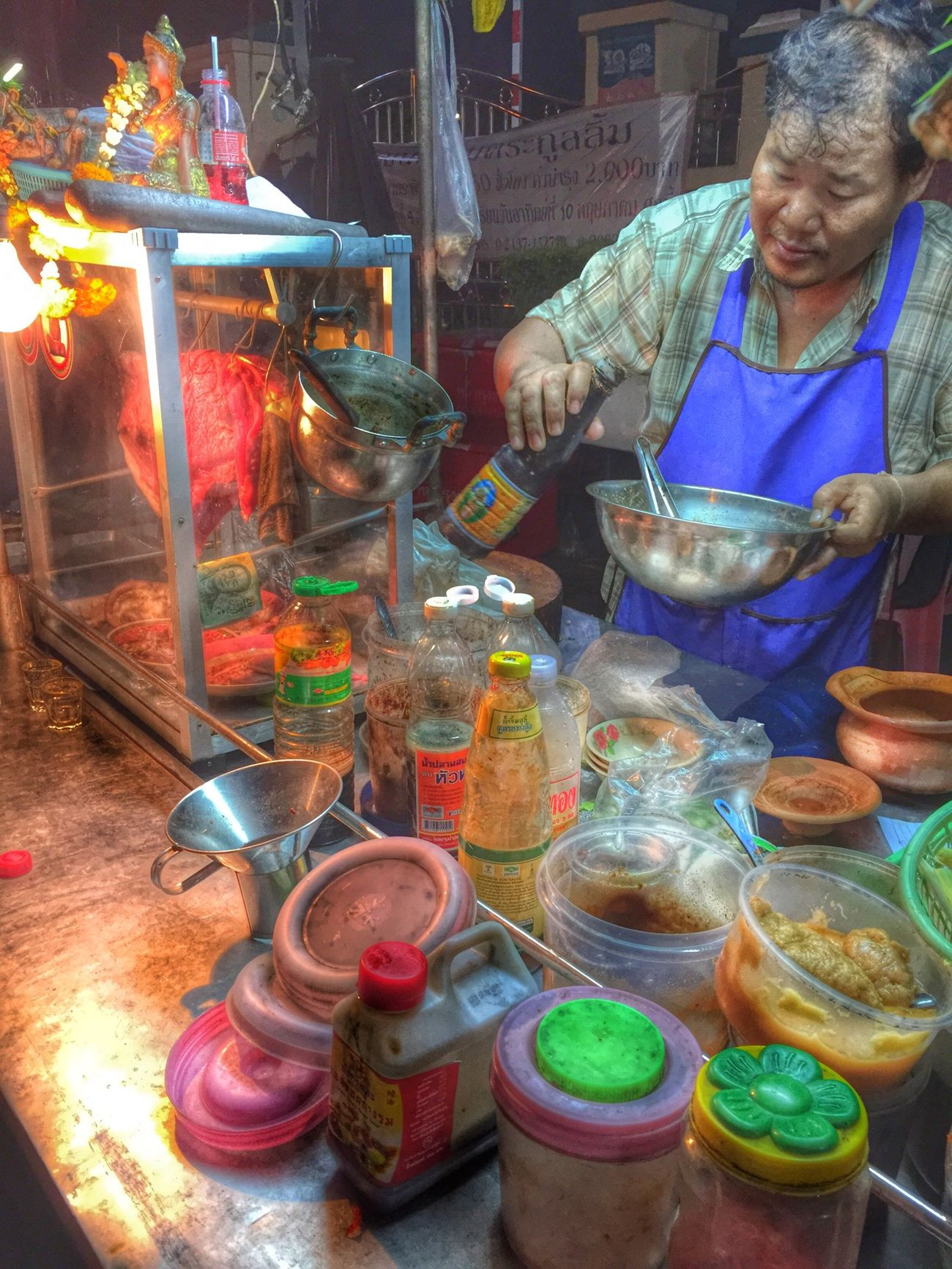 เจริญนคร 46 Thailand Street Food Yummy Delicious Food Porn Snapseed Eating Check This Out