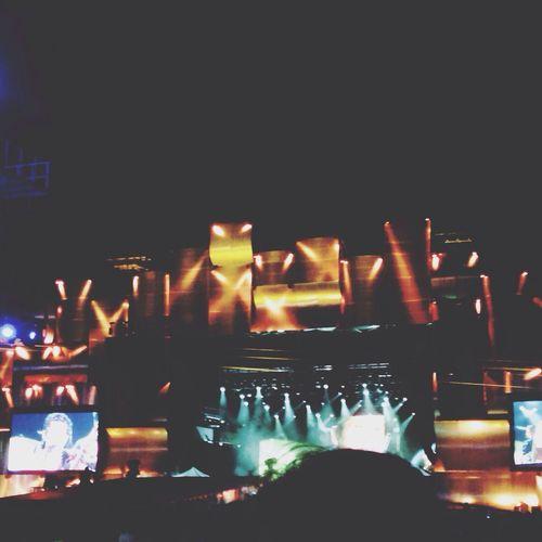 The best festival ever ❤️ John Mayer
