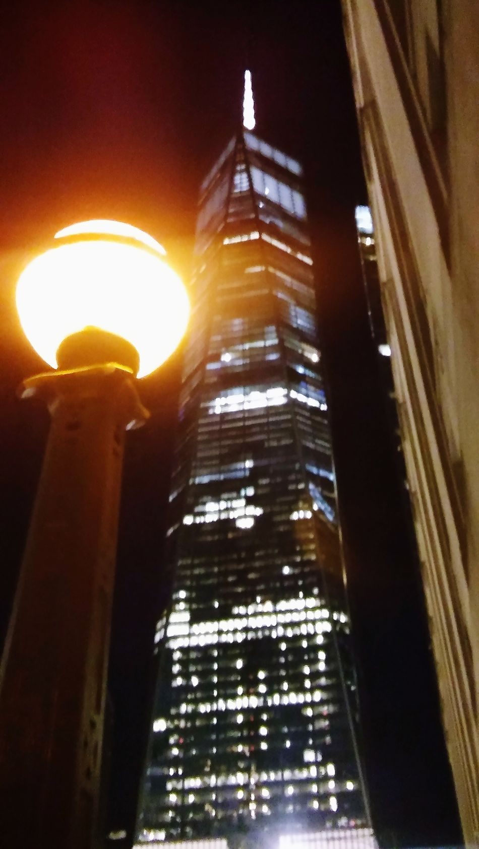 Freedom Tower Architecture Built Structure Night Outdoors WTC Freedom NYC Photography NYC Street NYC Street Photography NYC Subway Nycphotographer NYC Skyline