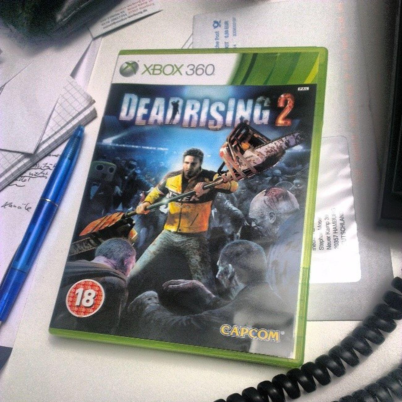 Der Abend ist gelaufen :) CAPCOM Xbox Deadrising2