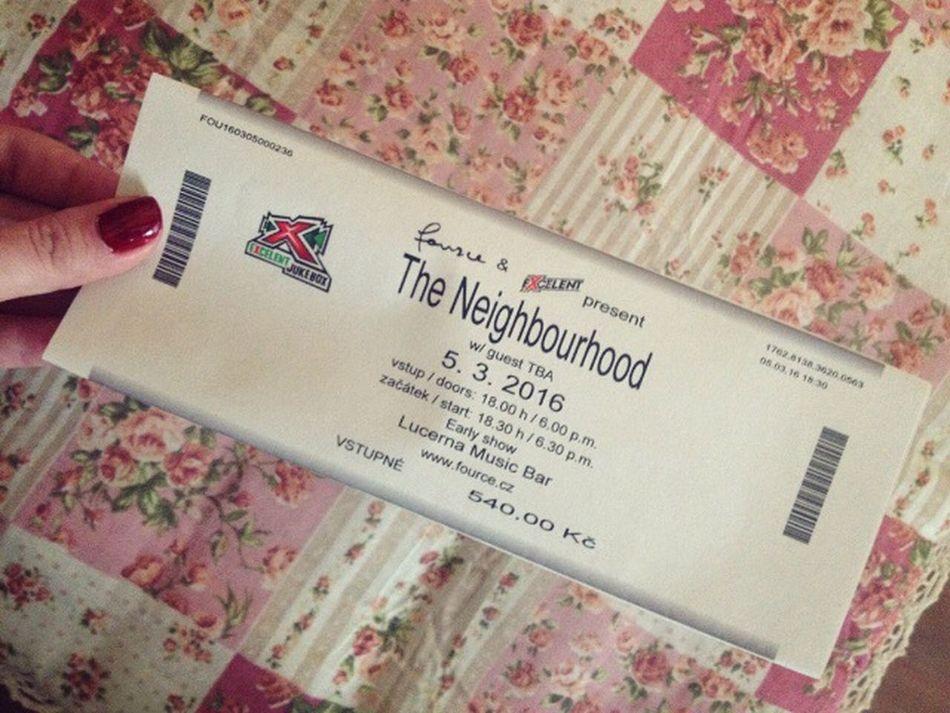 !!!! cant waitttt Hello World Popular Photos Happy TheNeighborhood TheNBHD Music Concert