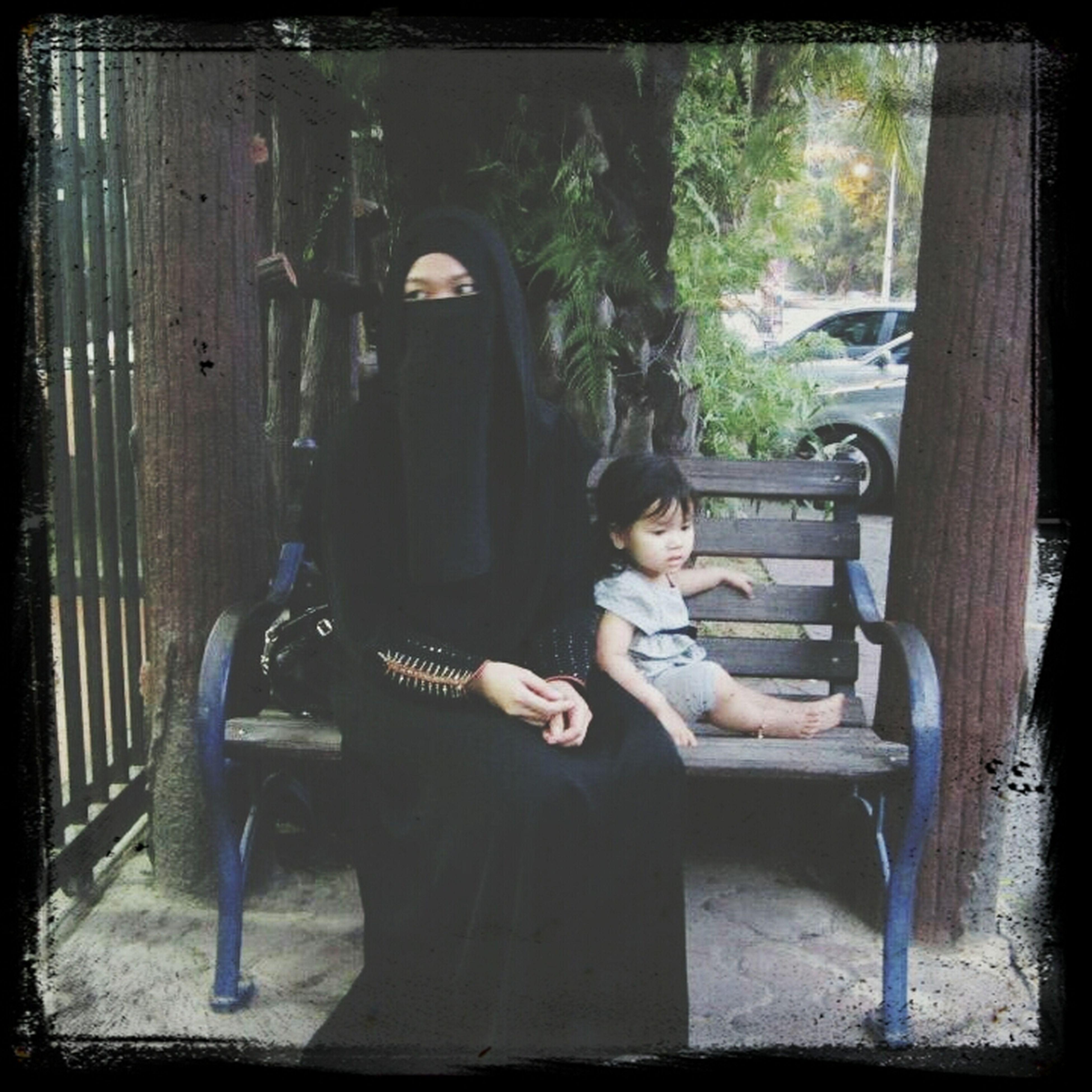 Sarra Ermyscha Throwback Niqab Purdah