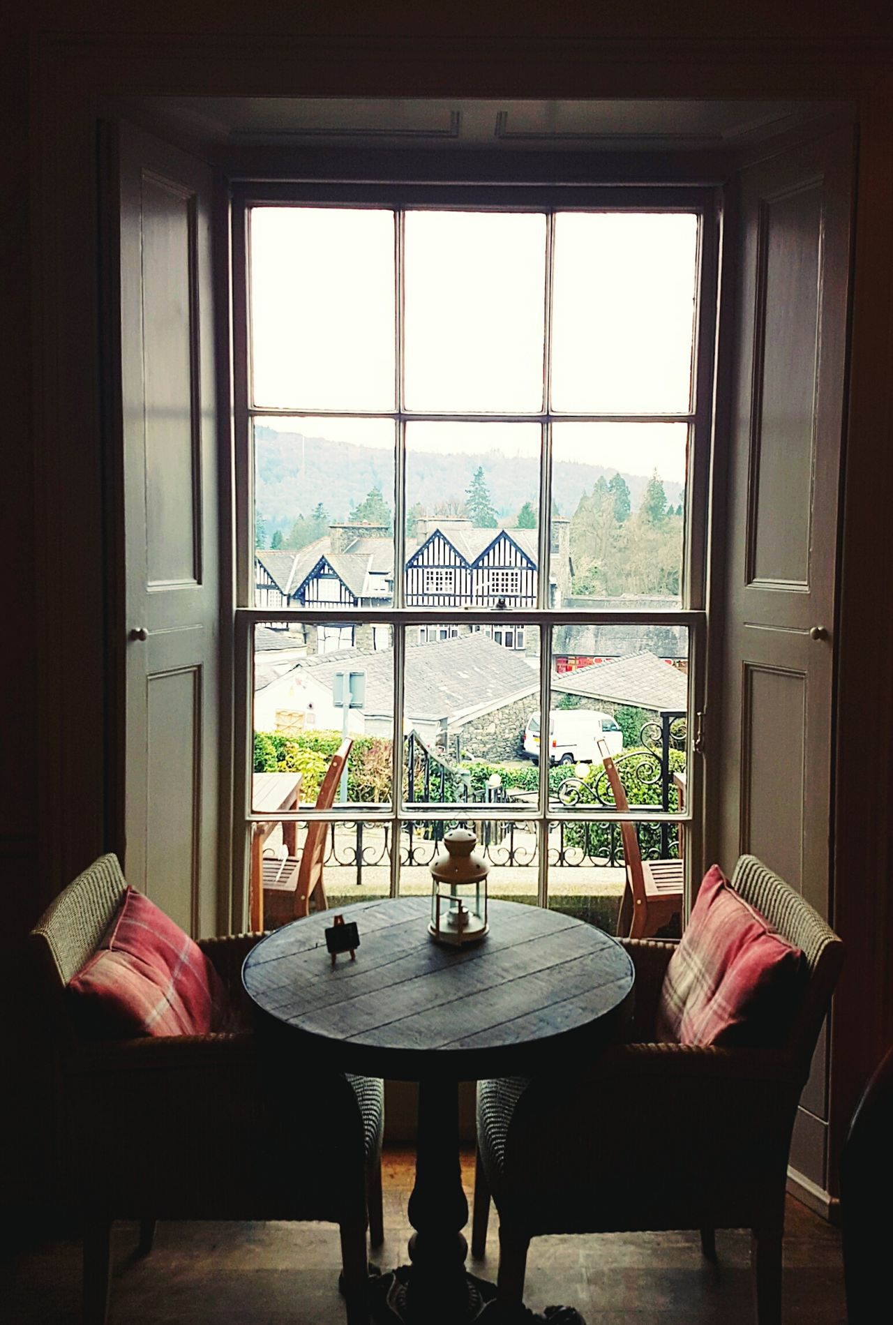 Window Indoors  No People Home Interior Luxury Day Dining Table Chair Table Lake District Dining Out Break Vacations Lake View Lake District National Park Lake District Photography Windermere Bowness