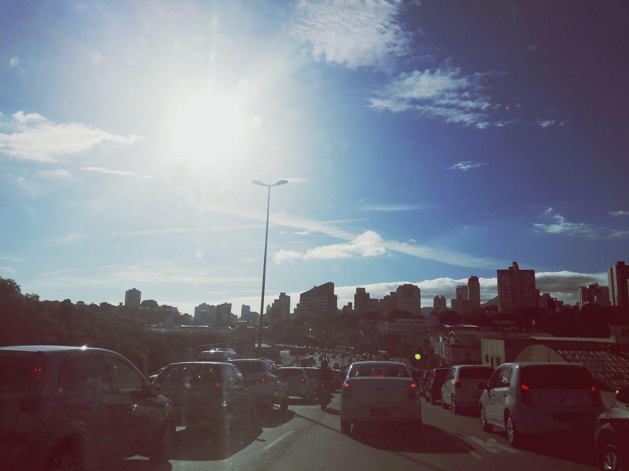 Transportation Street Light Flying Belohorizontecity Cloud - Sky Nature Sun Outdoors No People Sky Day Bhcity