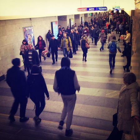 Metro station in SPb
