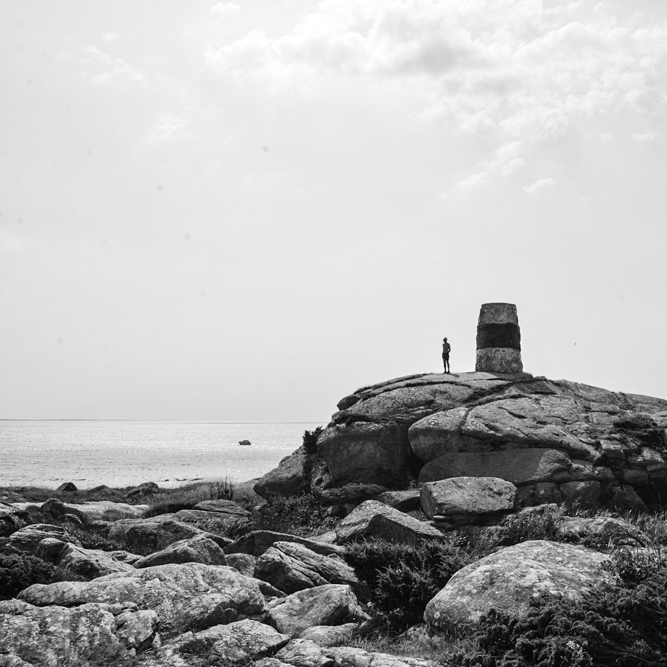 Rödskär, Varberg Sweden EyeEm Nature Lover Eye4photography  EyeEm Best Shots Blackandwhite Black And White Sweden