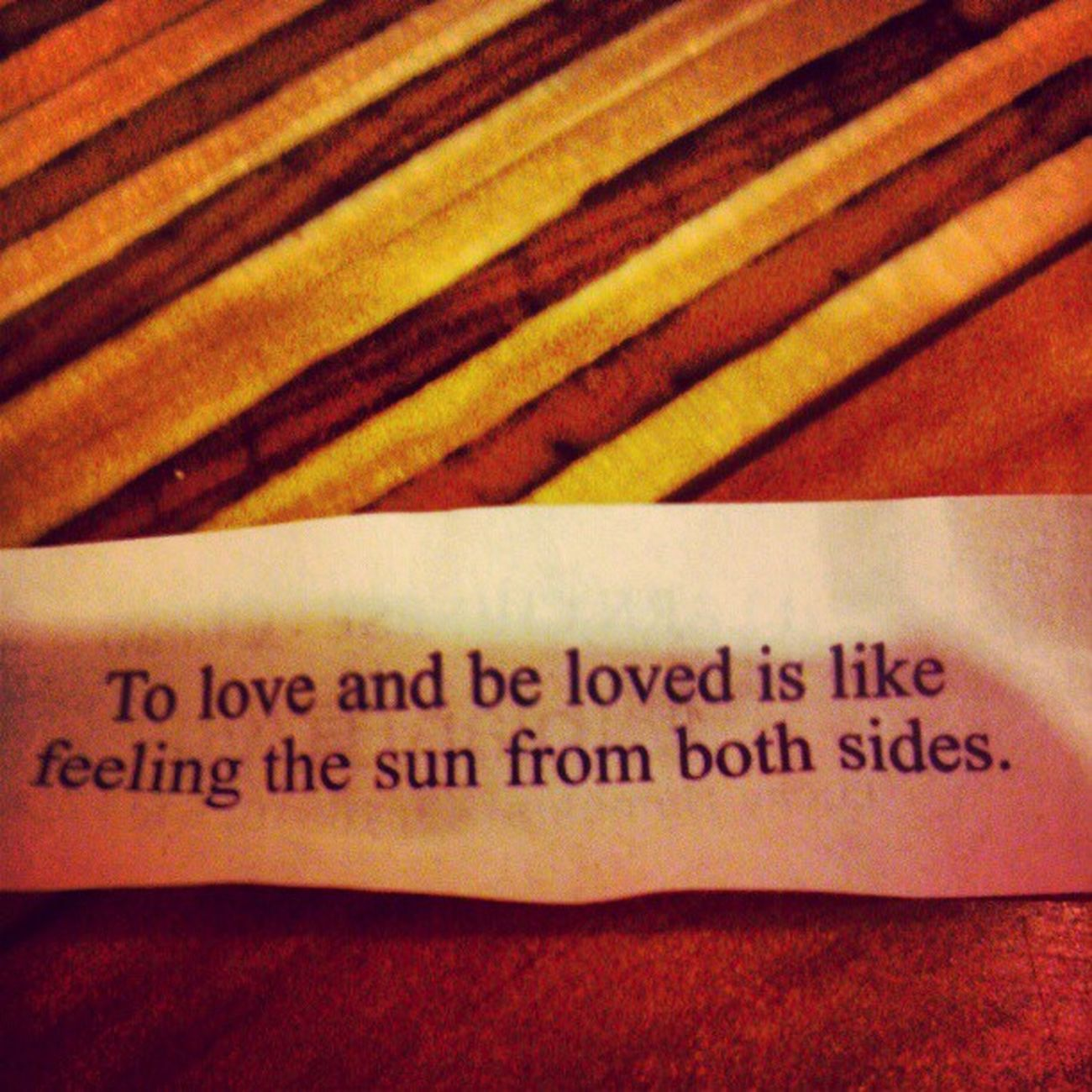 My fortune! Fortune Cookie Love Chinese