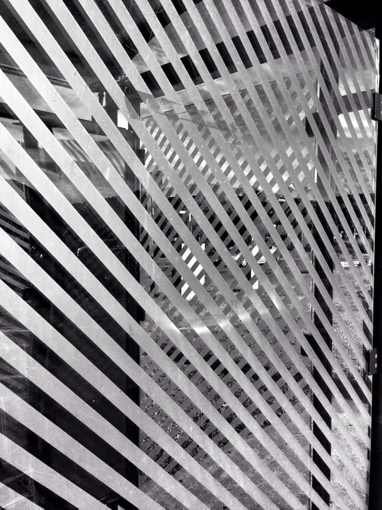 Lines and grids Blackandwhite Abstract Streetphotography Reflection Grids Gridspace Lines Glass Composition IPhoneography