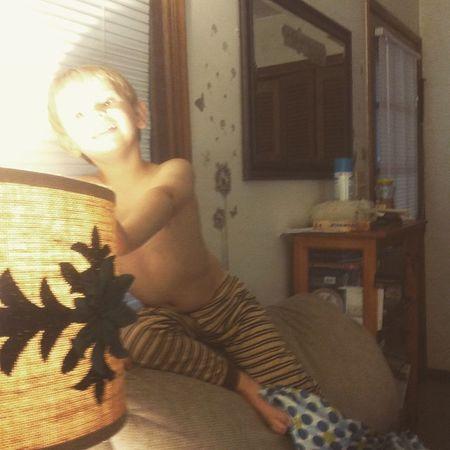 Onry boy apparently got comfy. Boymom Toddler  Goof Oldchair Saturday Loveyouwithallmyheart Weekend