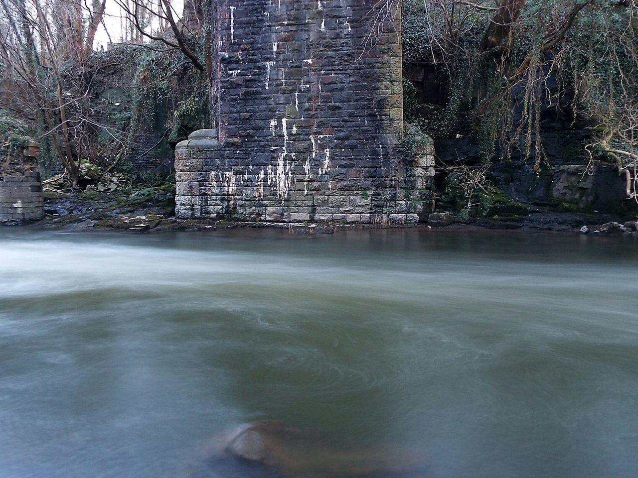 River Taff River Long Exposure