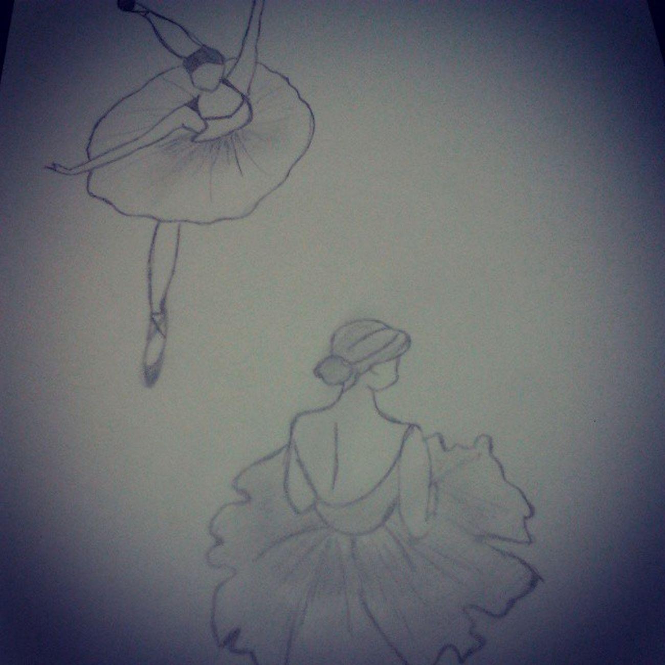 Siempre con la misma obsesión :c Happines Draw Ballet Tengosueño