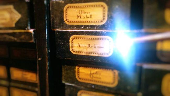 Alan Rickman harry potter tribute Harry Potter Alan Rickman Magic Harry Potter World Remembrance