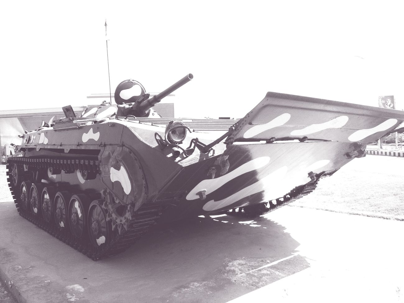 Black And White Tan Tank Gight Fight